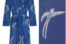 Men's Light Kimono Robe by Susannah Cotton Gowns / Susannah Cotton light kimono robes for men