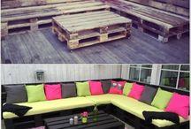 terrasse/paller
