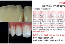 Future Courses at Dental Photography School / Updates about FREE and paid courses happening at Dental photography School for dentists and dental staff. http://dentalphotographyschool.com/dental-photography-courses-mumbai.html