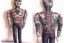 Cool textile Dolls