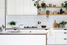 modern kitchen moodboard