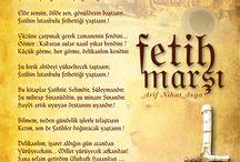 Yakın Fetih / Yürü, hâlâ ne diye kendinle savaştasın?  Fâtih'in İstanbul'u fethettiği yaştasın!