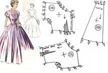 ドレスの型紙