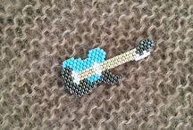 Geweven gitaar