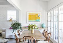 dining room / by Edlyn-Ric Mares