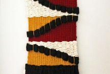 Woven Wall Hangings / Wall Hangings, Weavings, Fiberart / by Sarah Parys