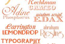 Vintage & Retro fonts