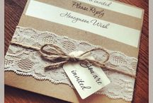 Vintage Wedding Stationery!