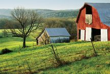 Barns & Bridges in Southern Indiana