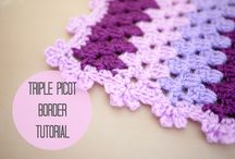 crochet edging / by Gina Hall