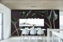 Botanicals / Inspiration to celebrate the Botanicals wall covering collection from Resource Furniture.
