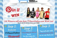 TVStoreOnline.com Wish List / A contest I was told I won, but didn't. / by Félise Echavarria-Esposito