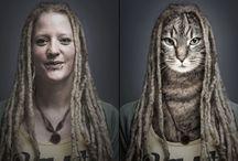 Human with animal head