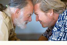 """""""Koleś i mistrz zen"""" / Zabawna i pouczająca rozmowa dwojga przyjaciół o życiu i filmach - książka Bernie Glassmana i Jeffa Bridgesa.  http://sklep.charaktery.eu/jeff_bridges_bernie_glassman-koles-i-mistrz-zen.html"""