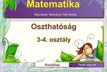 Matematika oszthatóság