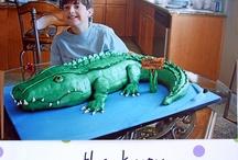 Oliver's birthday / Crocodile party ideas