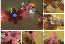 decorazioni di plastica