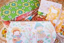 Handmade nana*iroGallery 1 / 東欧のヴィンテージファブリックなどを使って作ったバッグやポーチなど