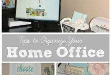 Organize Me: Home Office / by Angie Pillars
