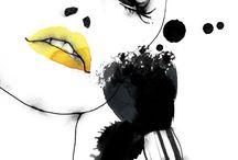 Mascara and Coffee / Makeup