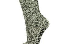 Huissokken met antislip voor dames / Allemaal leuke damessokken met antislip. Van Wol, katoen of polyester. Te koop bij Domak.nl, sokken en onderbroeken.