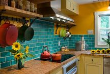 Yellow Kitchen / by Briggs Shore