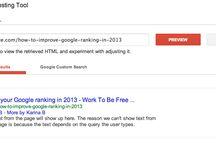 Search Engine Optimisation / SEO