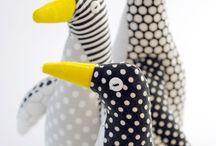 Игрушка пингвин