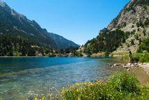Pyrenees mountains, hiking, traveling