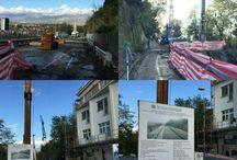 Iniziati oggi i lavori per la realizzazione del ponte provvisorio su Viadotto Biondi - Frosinone