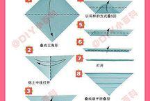 Оригами / Всякие прикольные штуки из бумаги.