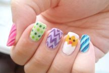Easter nails / Nail art with an Easter theme