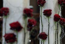 Λαμπάδες γάμου / Στολισμός γάμου & λαμπάδες γαμού απο το floraldesign.gr