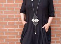 Lagenlook Mode / Textile Unikate von Carmen Straube Lagenlookmode aus dem Modeatelier klennes!