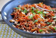 cooked asian / by Julie Davidson