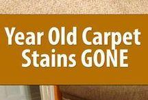 carpet stains gone