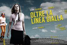 Oltre La Linea Gialla - Film 2016 / poster movie, grafica, comunicazione, advertising