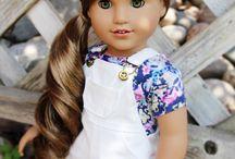 American Girl Doll Clothes & Hair