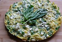 Breakfast - Egg dishes and Frittatas