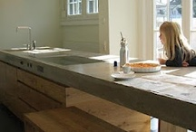 Concrete Kitchen Idea Board