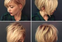 Hair - Piexie cut