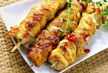 Brochettes de poulet