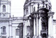 Sketches Art / Gebouwen