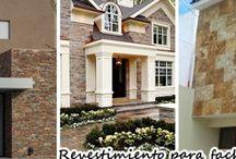 28 revestimientos que harán lucir tu fachada