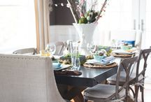 Eclectic Pastel Easter Tablescape