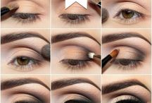 Vivid eye-shadow application techniques / Explore unique eye-shadow application tips you never wanna miss out.