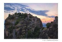 Holy Monastery of Grand Meteoro at sunset!!!