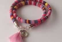 Handmade bracelets / Leuke inspiratie om zelf armbanden te maken!