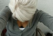 Grey and or white hair