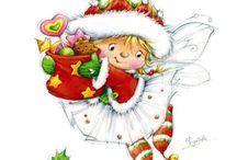 Karácsonyi rajzok